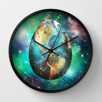 Somewhere in the Universe... Wall Clock by SensualPatterns