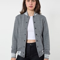 hvt401w - Unisex Heavy Terry Club Jacket