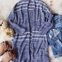 Sutton Cardigan Sweater in Navy