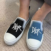 DIOR Embroidered Dior fashion casual shoes
