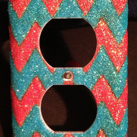 Chevron Outlet or Light Switch Covers