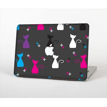 """The Color Vector Cats Skin Set for the Apple MacBook Pro 15"""""""