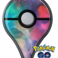 Blotted 534 Absorbed Watercolor Texture Pokémon GO Plus Vinyl Protective Decal Skin Kit