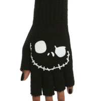 The Nightmare Before Christmas Jack Fingerless Gloves