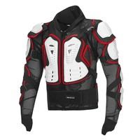 Motorcycle moto reflective armor jacket full body armour protective gear vest racing clothing turtle jackets