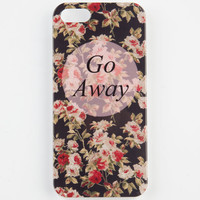 Go Away Iphone 5/5S Case Black Combo One Size For Women 24135314901