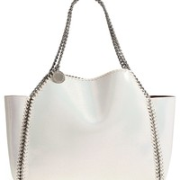 Stella McCartney Small Oleo Deer Reversible Faux Leather Tote | Nordstrom