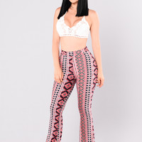 Carmen Pants - Pink/Multi