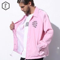 Men's Fashion Winter Print Windbreaker [8822220867]