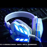 Cosonic Gaming Headphone USB + 3.5mm Gaming Headset Headband Earphone with Microphone Noise Canceling LED Light for PC Gamer