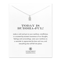 Make a Wish Beautful Buddha Charm, Sterling Silver | Dogeared