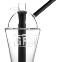 """8"""" Grav Labs Cup Bubbler - Clear 