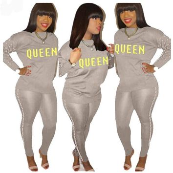 Queen ~ Casual Full Sleeve Set
