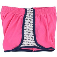 Plaid Longshanks Limited Edition Shorts in Pink by Krass & Co.
