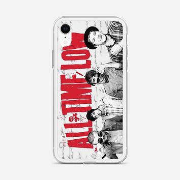 All Time Low Music Band iPhone XR Case