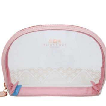 Andalusia Lace Carry On Quart Cosmetic Bag