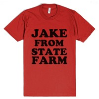 Jake From State Farm-Unisex Red T-Shirt