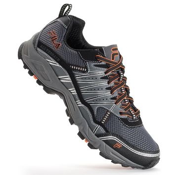 FILA Tractile Men's Trail Running Shoes (Grey)