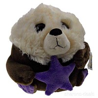 "Sea World Otter 9"" Petting Zoo Plush Toy Soft Stuffed Animal Doll Kids Gift NEW"