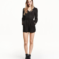 V-neck Jumpsuit - from H&M