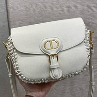 Dior High Quality Women Fashion Leather Crossbody Satchel