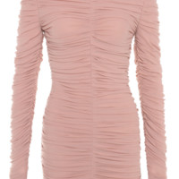 'Gala' Rushed Mesh Dress