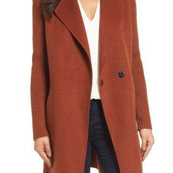 Kenneth Cole New York Double Face Coat (Regular & Petite)   Nordstrom