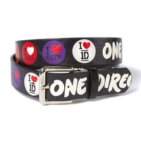 One Direction I Heart Reversible Belt  | Claire's
