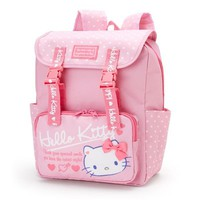 Hello Kitty Kids Backpack Heart Pink Sanrio Japan - VeryGoods.JP