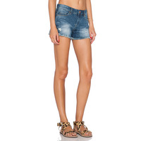 Low Waisted Denim Shorts