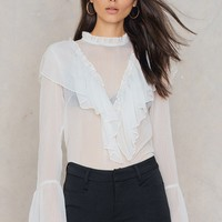 Agnes Frill Blouse
