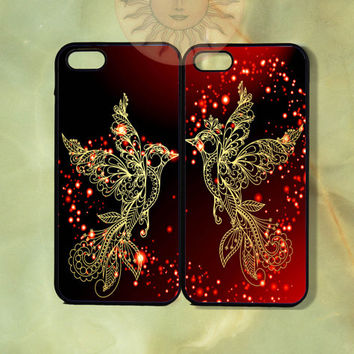 Love Doves Couple Cases -iPhone 5, 5s, 5c, 4s, iphone 4 case, ipod 5, Samsung GS3 Gs4 -Silicone Rubber or Hard Plastic Case, Phone cover