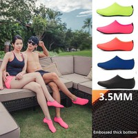 Free Shipping Water Beach Shoes for Women Men Aqua Quick Dry Footwear Sea Swimming Pool Slippers Skin Barefoot Sneakers Shoes