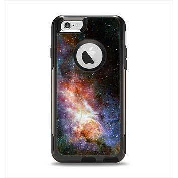 The Multicolored Space Explosion Apple iPhone 6 Otterbox Commuter Case Skin Set