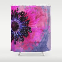 Flower #1 Shower Curtain by Psychae