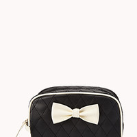 Classic Quilted Cosmetic Case