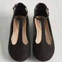 Suits You to a T-Strap Flat | Mod Retro Vintage Flats | ModCloth.com