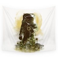 Society6 Sunflower Field Wall Tapestry