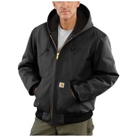 Carhartt Quilted Flannel Lined Duck Active Jacket - Men's
