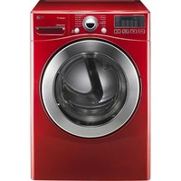 Ultra-Large Capacity Steam Electric Dryer - Wild Cherry Red