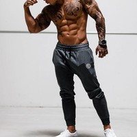 Spring Fashion Men Joggers Pencil Harem Pants Sporting workout gyms clothing Bodybuilding Fashion fitness sweatpants