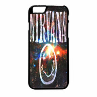 Nirvana Wood Sign Art Galaxy iPhone 6 Plus Case