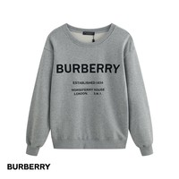 Fashion burberry sweater men's and women's round neck sweater long-sleeved shirt high quality