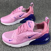 Air Max 270 Nike cushion classic casual shoes cushioning F-CSXY pink
