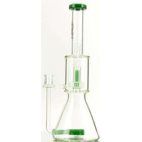 Elev8 Double Disc Water Pipe