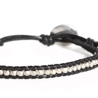 Double Chai Midnight Talisman Bracelet