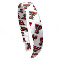 Texas Tech Red Raiders Womens Logo Satin Headband