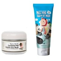 [Ship by USPS] Elizavecca Carbonated Bubble Clay Mask + Hell-Pore Clean Up Mask