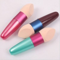 Cosmetic Brushes Liquid Cream Foundation Concealer Sponge Lollipop Brush Women