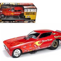 1971 Gene Snow Rambunctious Dodge Charger NHRA Funny Car Model 1-18 Model Car by Autoworld